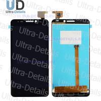 Дисплей Alcatel OT-6030 (Idol) в сборе с тачскрином (черный)