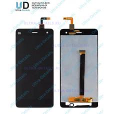 Дисплей Xiaomi Mi4 в сборе с тачскрином (черный)