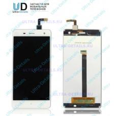 Дисплей Xiaomi Mi4 в сборе с тачскрином (белый)
