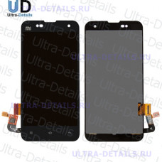 Дисплей Xiaomi Mi2s в сборе с тачскрином (черный)