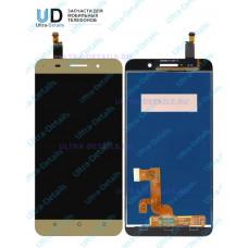 Дисплей Huawei Honor 4X (Che2-L11) в сборе с тачскрином (золотой)