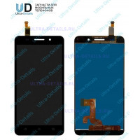 Дисплей Huawei Honor 4X (Che2-L11) в сборе с тачскрином (черный)