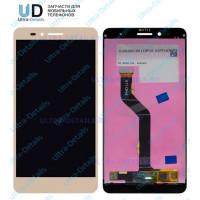 Дисплей Huawei Honor 5X/KIW-L21 в сборе с тачскрином (золотой)