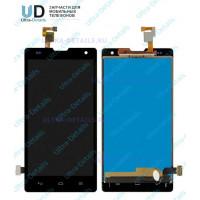 Дисплей Huawei Honor 3C в сборе с тачскрином (черный)