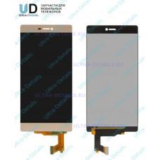 Дисплей Huawei P8 в сборе с тачскрином (золотой)