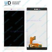 Дисплей Huawei P8 в сборе с тачскрином (белый)