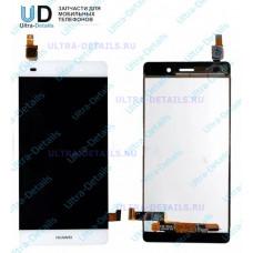 Дисплей Huawei P8 Lite (ALE-L21) в сборе с тачскрином (белый)