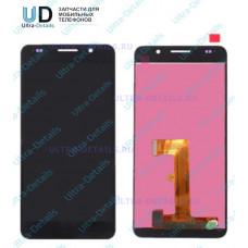 Дисплей Huawei Honor 6 (H60-L04/H60-L12) в сборе с тачскрином (черный) (матрица оригинал)