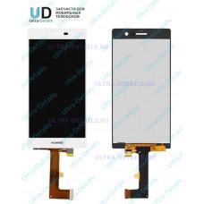 Дисплей Huawei Ascend P7 в сборе с тачскрином (белый)