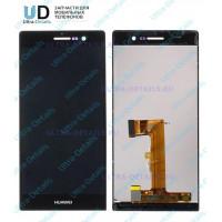 Дисплей Huawei Ascend P7 в сборе с тачскрином (черный)
