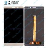 Дисплей Huawei Ascend Mate 7 (JAZZ-L09) в сборе с тачскрином (золотой)