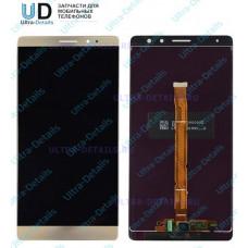 Дисплей Huawei Mate 8/NXT-L29/NXT-AL10 в сборе с тачскрином (золотой)