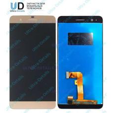 Дисплей Huawei Honor 6 Plus в сборе с тачскрином (золотой)