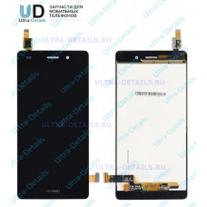 Дисплей Huawei P8 Lite (ALE-L21) в сборе с тачскрином (черный)