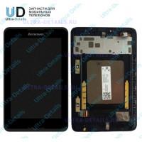 Дисплей Lenovo A7-50 (A3500) в сборе с тачскрином (черный)