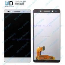Дисплей Huawei Honor 7 (PLK-L01) в сборе с тачскрином  белый