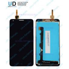 Дисплей Huawei Honor 3X черный (g750)
