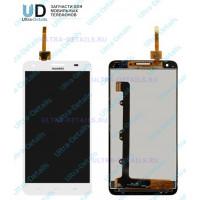 Дисплей Huawei Honor 3X белый (g750)