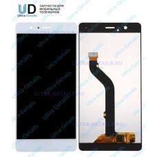 Дисплей Huawei P9 lite/VNS-L21/VNS-L22/VNS-L23/VNS-L31/VNS-L53 в сборе с тачскрином (белый) матрица оригинал