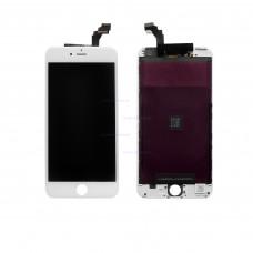Стекло iPhone 6 Plus с тачскрином (белый)