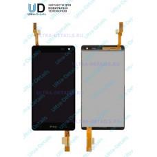 Дисплей HTC Desire 600 Dual в сборе с тачскрином (черный)