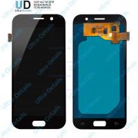 Дисплей Samsung A520F (A5 2017)  в сборе с тачскрином черный - AAA (TFT) с регулируемой подсветкой