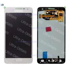 Дисплей Samsung A300F (A3) в сборе с тачскрином (серебро)
