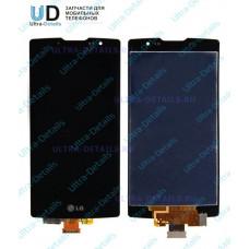 Дисплей LG H500f Magna (LG Y90) в сборе с тачскрином (черный)