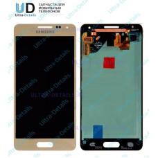 Дисплей Samsung G850F золотой дисплей в сборе с тачскрином