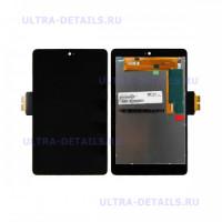 Дисплей Nexus 7  в сборе с тачскрином (черный)