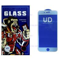 Защитное стекло iPhone 7 Plus/8 Plus белый  полное покрытие