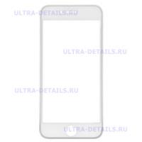 3D стекло для iPhone 7 (белый)