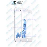 3D стекло для iPhone 7 plus (белый)