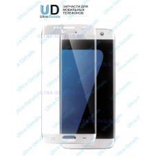 Защитное стекло 3D для Samsung Galaxy S7 Edge белый