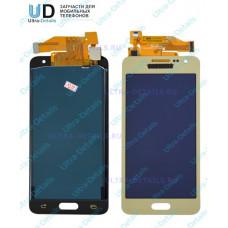 Дисплей Samsung A300  золото оригинал в сборе с тачскрином