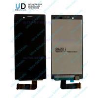 Дисплей Sony X compact  в сборе с тачскрином (черный)
