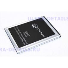 Аккумулятор Micromax D320