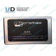 Аккумулятор Micromax A69