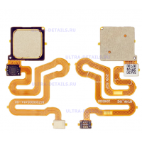 Шлейф Huawei P9  сканер отпечатка пальца золотой