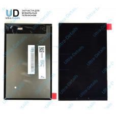 Дисплей Lenovo A5500 в сборе с тачскрином (черный) с рамкой