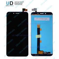 Дисплей Asus ZC553KL (ZenFone 3 Max) в сборе с тачскрином (черный)