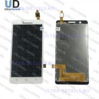 Дисплей Lenovo A536 в сборе с тачскрином (белый)