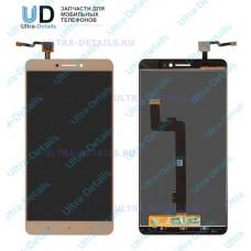 Дисплей Xiaomi Mi Max в сборе с тачскрином (золотой)