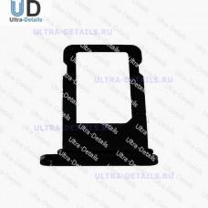 SIM Лоток iPhone 7 черный Оникс