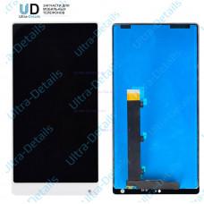 Дисплей Xiaomi Mi MIX в сборе с тачскрином (белый)