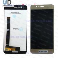 Дисплей Asus ZenFone 3 Max (ZC520TL) в сборе с тачскрином (золотой)