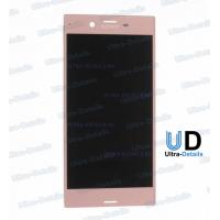 Дисплей Sony F8331/F8332 (XZ/XZ Dual) в сборе с тачскрином (розовый)