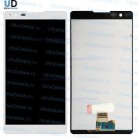 Дисплей LG K220DS (X power) в сборе с тачскрином (белый)