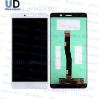 Дисплей Huawei Honor 6X/GR5 2017/BLN-AL10/BLN-L21/BLN-L22/BLN-L24 в сборе с тачскрином (белый)