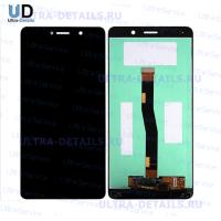 Дисплей Huawei Honor 6X/GR5 2017/BLN-AL10/BLN-L21/BLN-L22/BLN-L24 в сборе с тачскрином (черный)